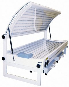 Double sunbed